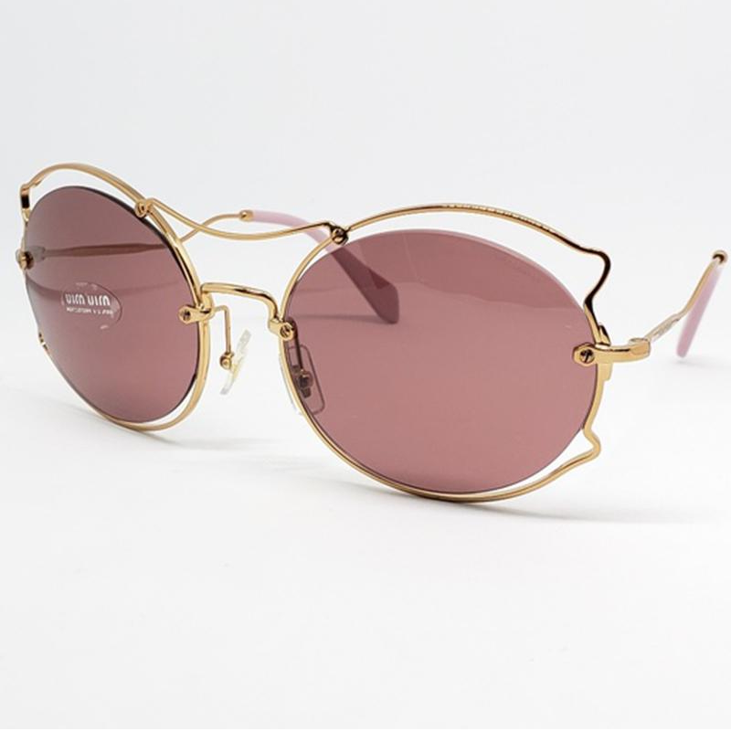 4f024d4b95 Miu Miu Sunglasses Pink Gradient Women s SMU 50S – The Shades Hut