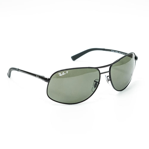 Ray-Ban Aviator Unisex Sunglasses w/Green Polarized Lens RB3387 002/9A