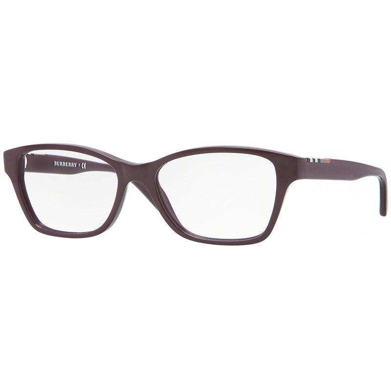 Burberry Eyeglasses Burgundy w/Demo Lens Unisex BE2144 3424