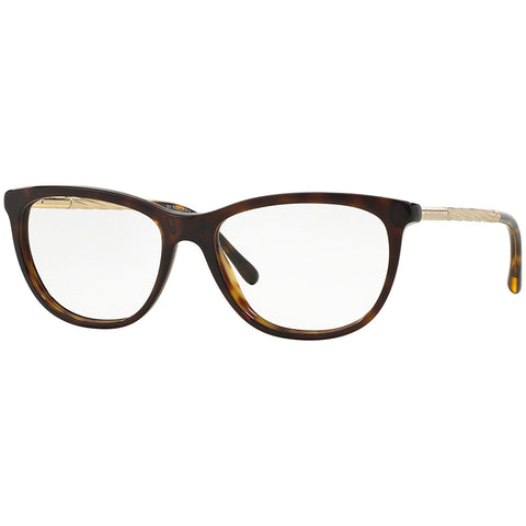 Burberry Eyeglasses Havana w/Demo Lens Women's BE2189-3002-52