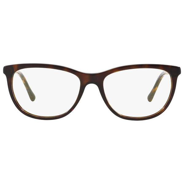 Burberry Women Eyeglasses Square Frame Demo Lens - Front