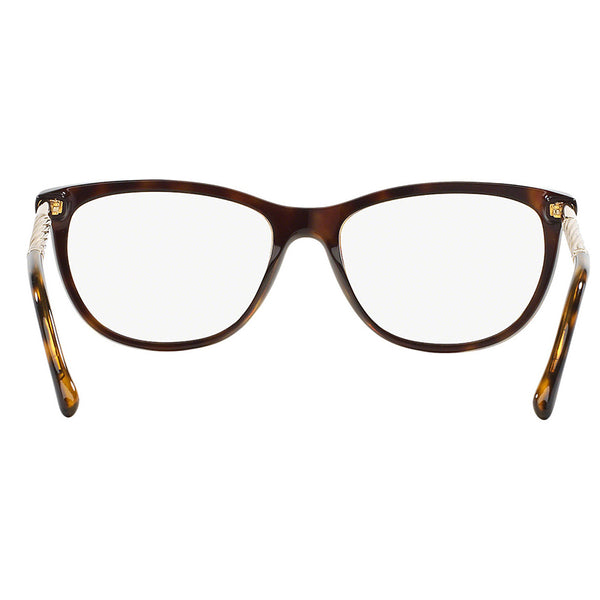 Burberry Women Eyeglasses Square Frame Demo Lens - Back