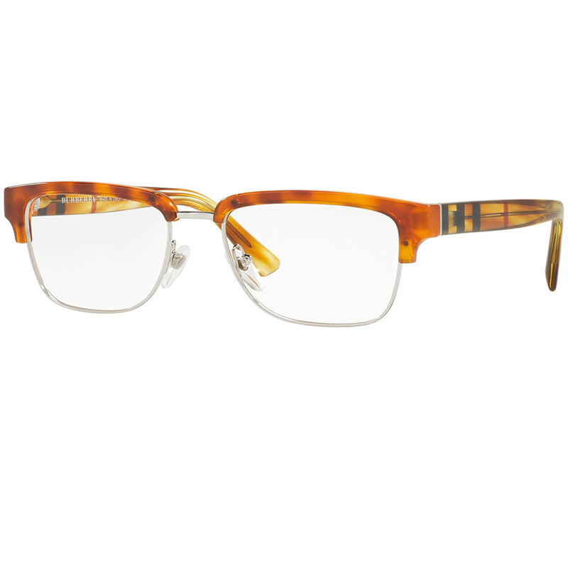 Burberry Eyeglasses Light Havana w/Demo Lens Unisex