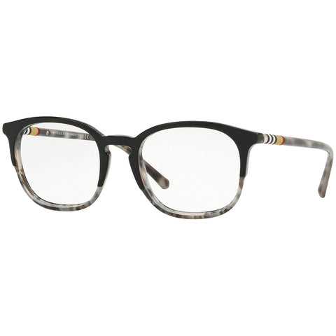 Burberry Men's Square Eyeglasses Black Grey Havana w/Demo Lens BE2272 3720