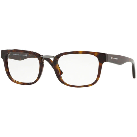 Burberry Men's Square Eyeglasses Dark Havana w/Demo Lens BE2279 3002