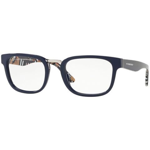 Burberry Men's Square Eyeglasses Blue w/Demo Lens BE2279 3749