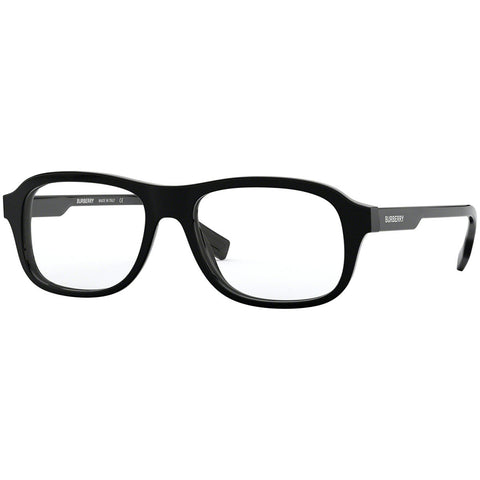 Burberry Square Men's Eyeglasses Black Frame w/Demo Lens BE2299F 3001