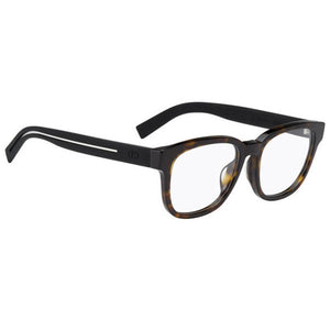 Dior BlackTie Eyeglasses Havana Black w/Demo Lens Men DIOR-BLACKTIE186F-M61-53
