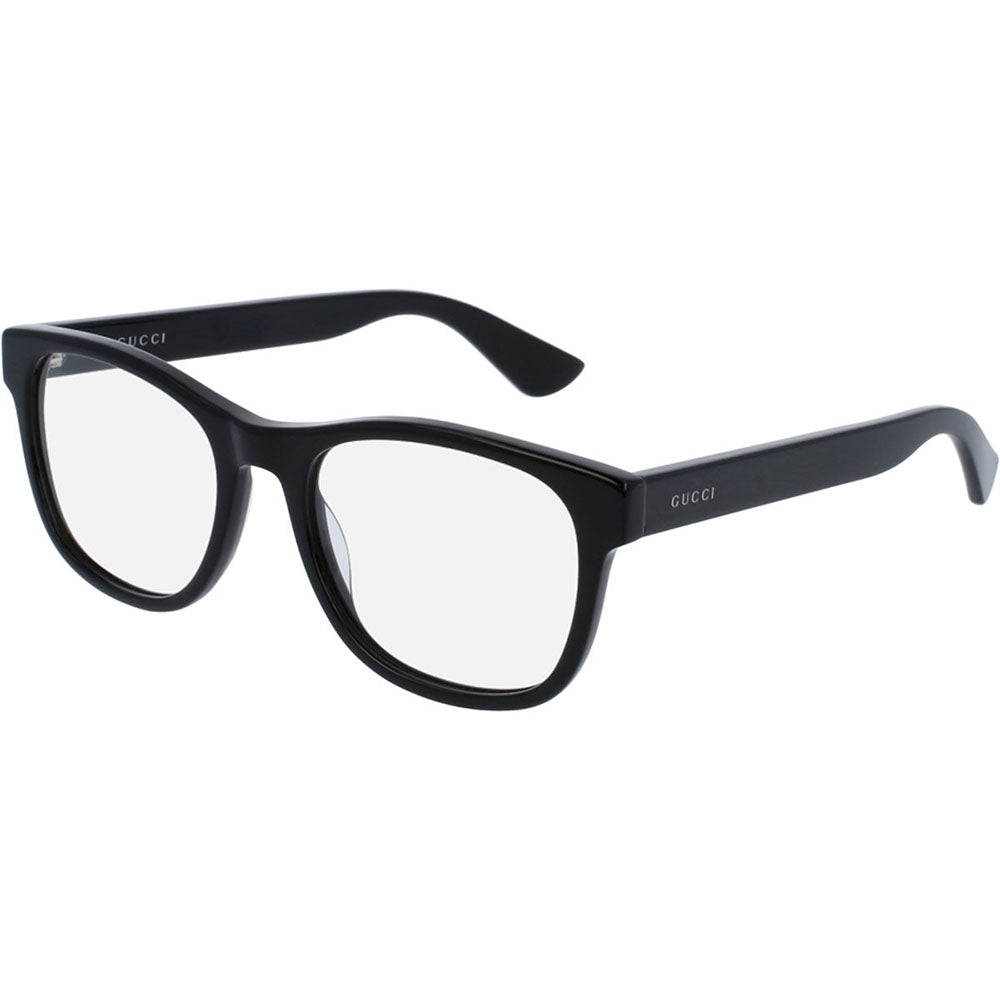 Gucci Men's Eyeglasses Black W/Demo Lens GG0004O-001