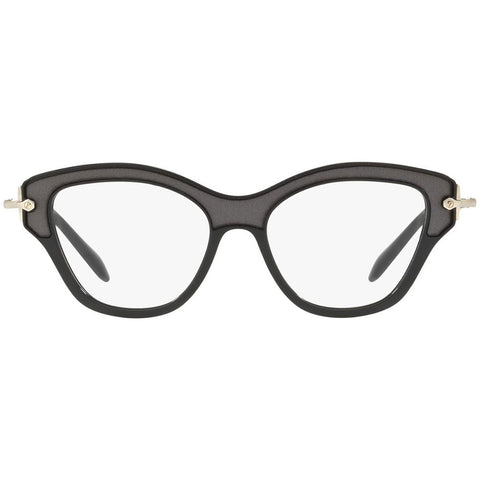 Miu Miu Women's Cat Eye Eyeglasses Black w/Demo Lens MU07OV VIE1O1