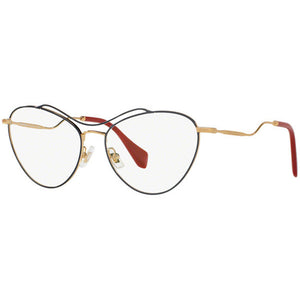 New Authentic Miu Miu Women's Eyeglasses W/Demo Lens MU53PV-UE61O1-56