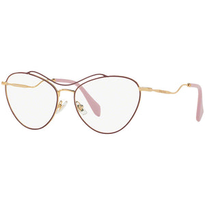 New Authentic Miu Miu Women's Eyeglasses W/Demo Lens MU53PV-UA51O1-56