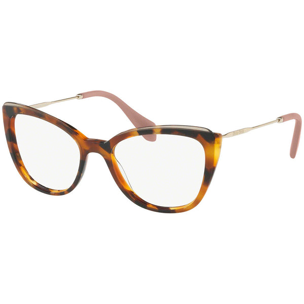 Miu Miu Cat Eye Women's Eyeglasses Havana