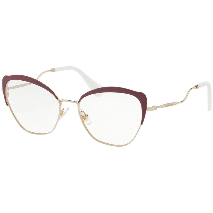 New Authentic Miu Miu Women's Eyeglasses W/Demo Lens MU54PV-UA51O1-54