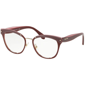 New Authentic Miu Miu Women's Eyeglasses W/Demo Lens MU54QV-CCG1O1-50