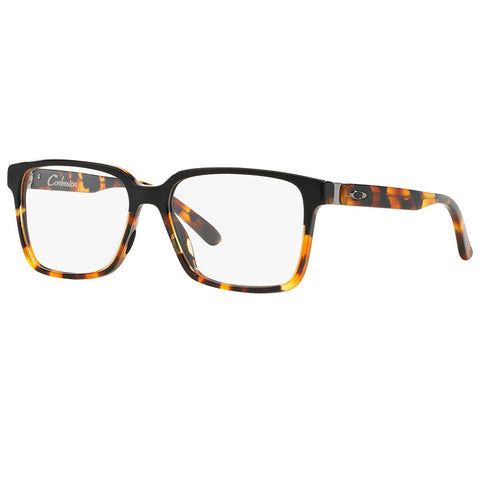 Oakley Confession Eyeglasses Black/Tortoise w/Demo Lens Women OX1128-01-52