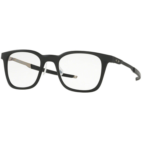 Oakley Steel Line R Men's Eyeglasses Satin Black w/Demo Lens OX8103 01