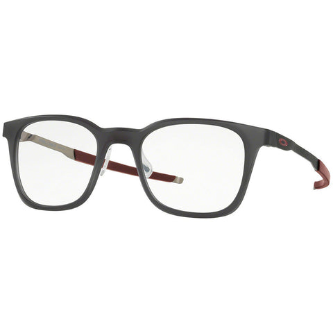 Oakley Steel Line R Men's Eyeglasses Matte Black Ink w/Demo Lens OX8103 02