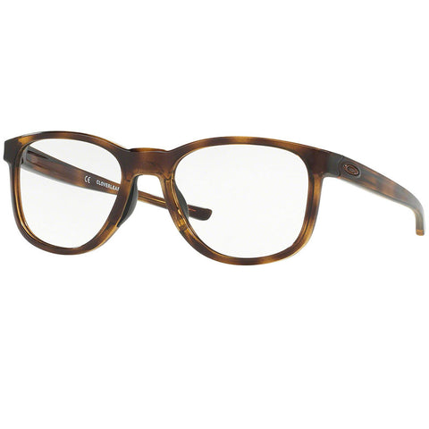 Oakley Cloverleaf Mnp Eyeglasses Polished Brown Tortoise w/Demo Lens Men OX8102-810204-52