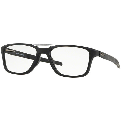 Oakley Gauge 7.2 Arch Men's Eyeglasses Satin Black w/Demo Lens OX8113 01