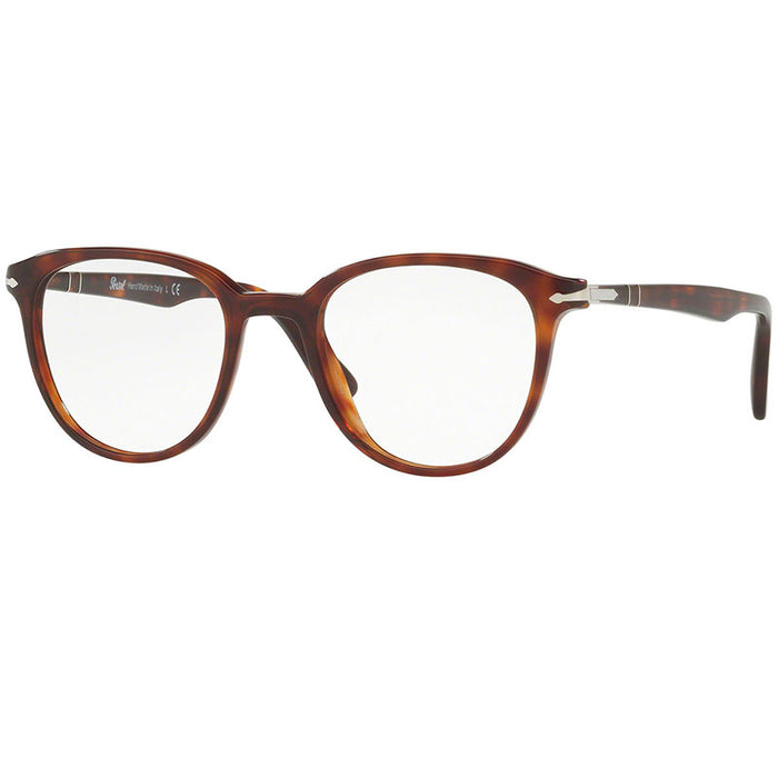 New Authentic Persol Eyeglasses Men Havana w/Demo Lens  PO3176V-24-50