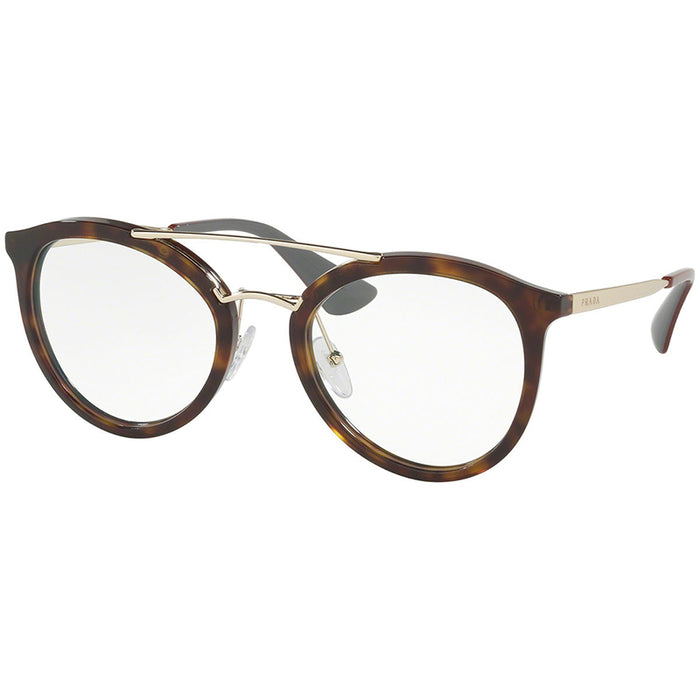 Prada Cat Eye Eyeglasses Women's Tortoise w/Demo Lens  PR15TV-2AU1O1