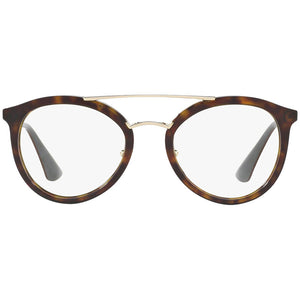 Prada Women's Eyeglasses Cat Eye PR15TV-2AU1O1 - Full Front