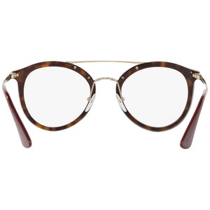 Prada Eyeglasses Cat Eye Frames PR15TV-2AU1O1 - Back View
