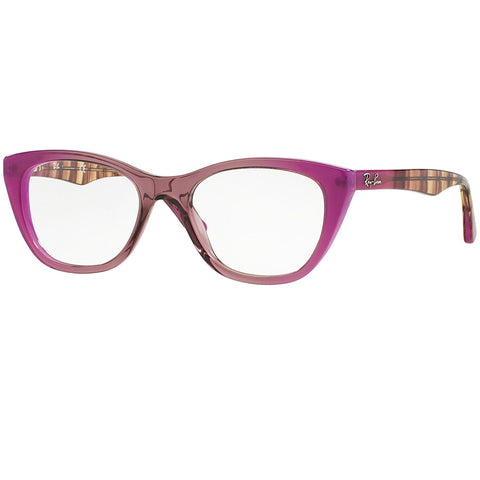 Ray-Ban Eyeglasses Grad Antique Pink On Pink w/Demo Lens Women RX5322 5489 53MM