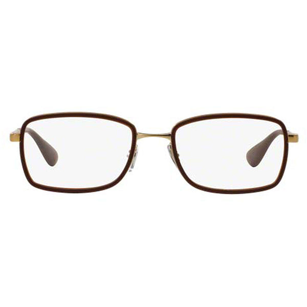 Ray-Ban Rx Eyeglasses Brown Color w/Demo Lens Women's RX6336 2858 51