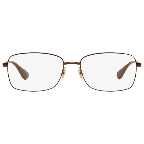 Ray-Ban Rx Eyeglasses Brown Color w/Demo Lens Women's RX6336 M2758 53