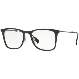 Ray-Ban Rx Eyeglasses Black Color w/Demo Lens Unisex RX7086 2000 51