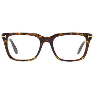 Tom Ford Unisex Square Eyeglasses Demo Lens - Front Side