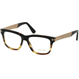 Tom Ford Men's Eyeglasses Black W/Demo Lens FT5372/005
