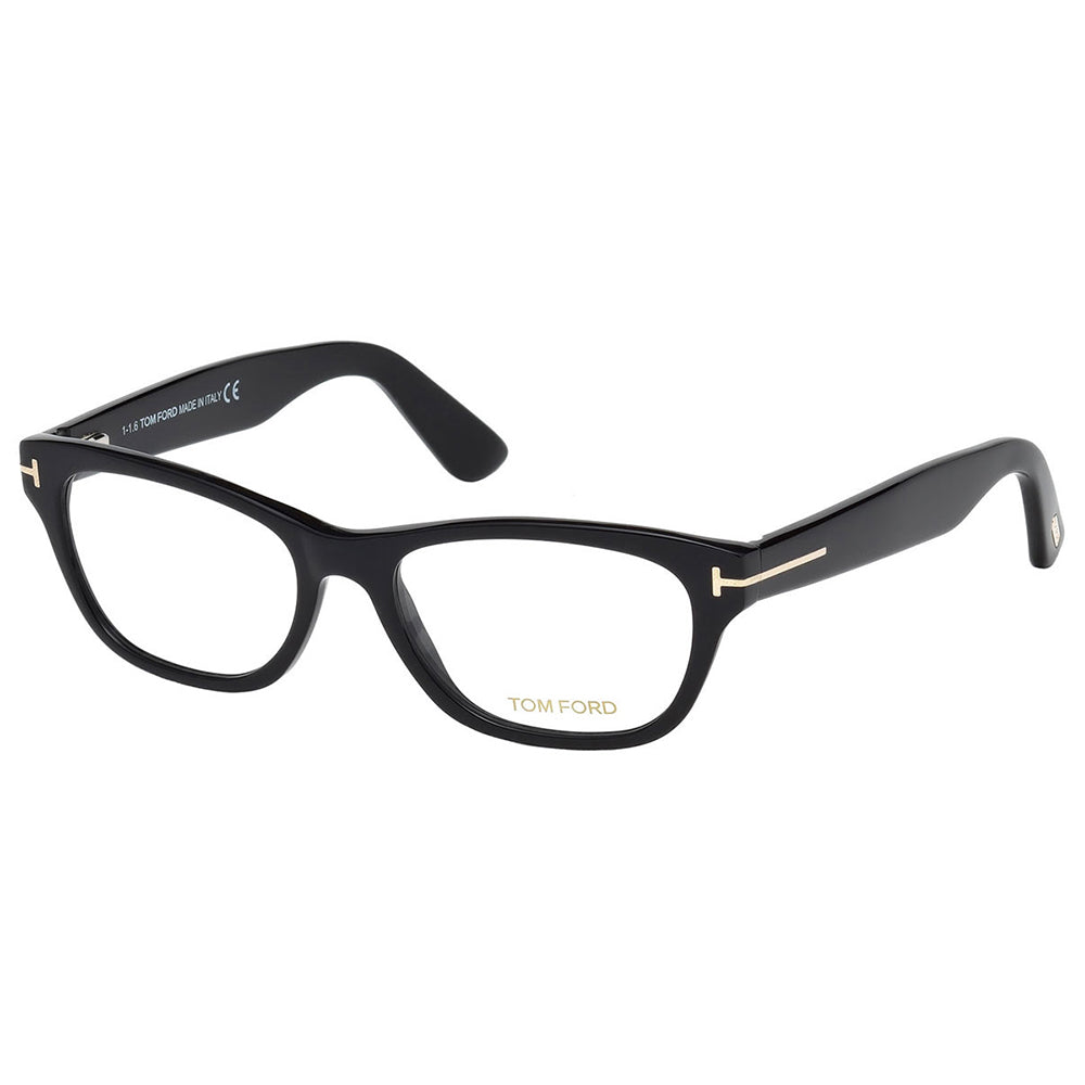 Tom Ford Women's Eyeglasses Shiny Black W/Demo Lens FT5425/001