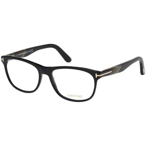 Tom Ford Men's Eyeglasses Shiny Black W/Demo Lens FT5431/001