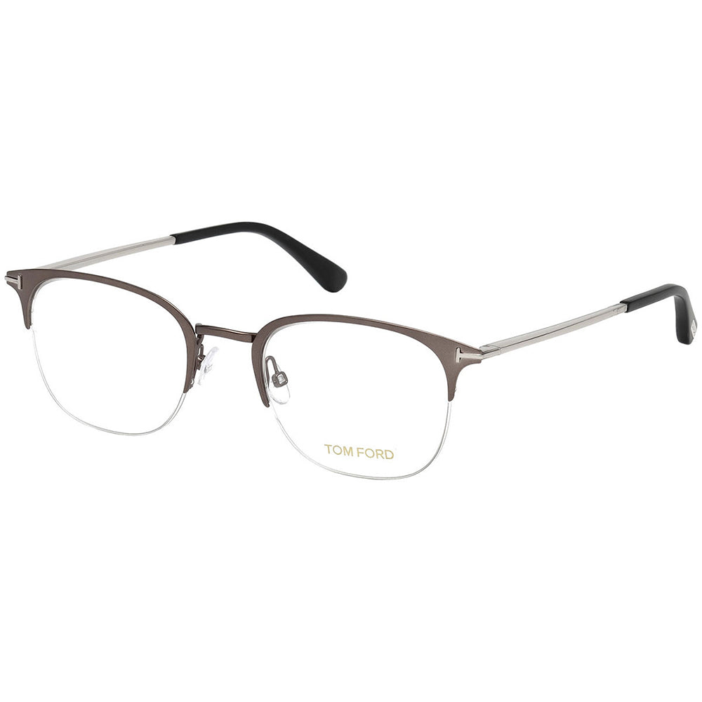 Tom Ford Men's Eyeglasses Matte Ruthenium W/Demo Lens FT5452/013
