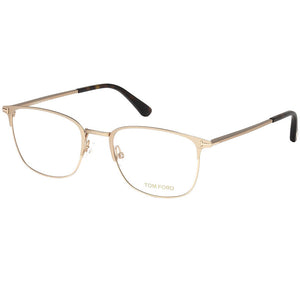 Tom Ford Eyeglasses Matte Rose Gold w/Demo Lens Men FT5453-029-54