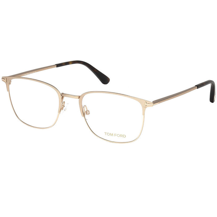 Tom Ford Men's Eyeglasses Matte Rose Gold w/Demo Lens FT5453/029