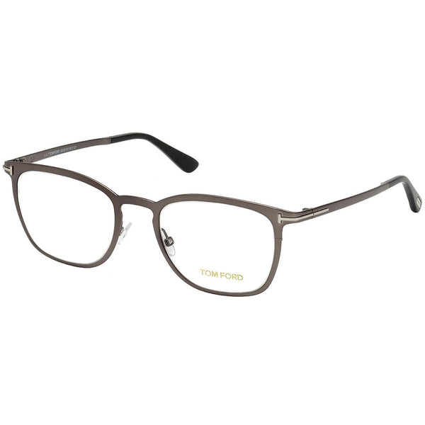 Tom Ford Square Men's Eyeglasses With Crystal Lens | Frame View