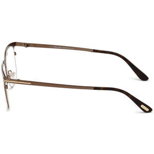 Tom Ford Square Mens Eyeglasses | Side View