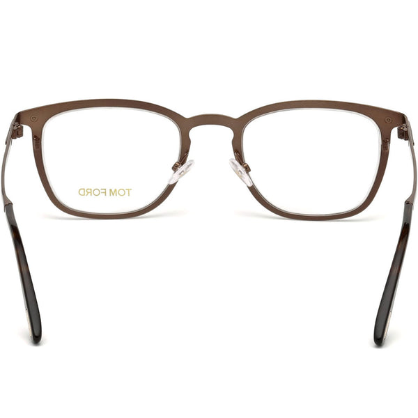 Tom Ford Square Mens Eyeglasses | Back View
