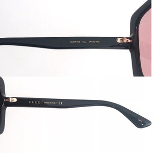 Gucci Women's Sunglasses W/Pink Lens. GG0418S-002
