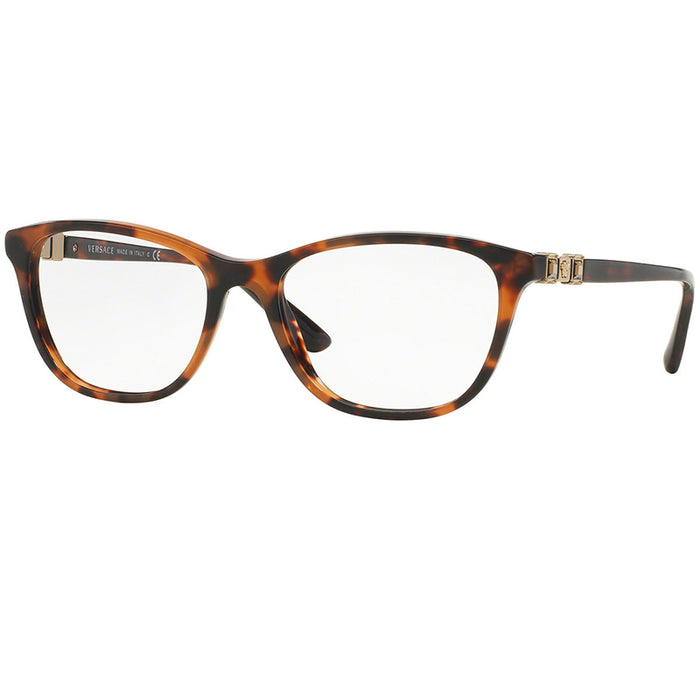 Versace Eyeglasses Havana w/Demo Customisable Lens Women VE3213B-944-52