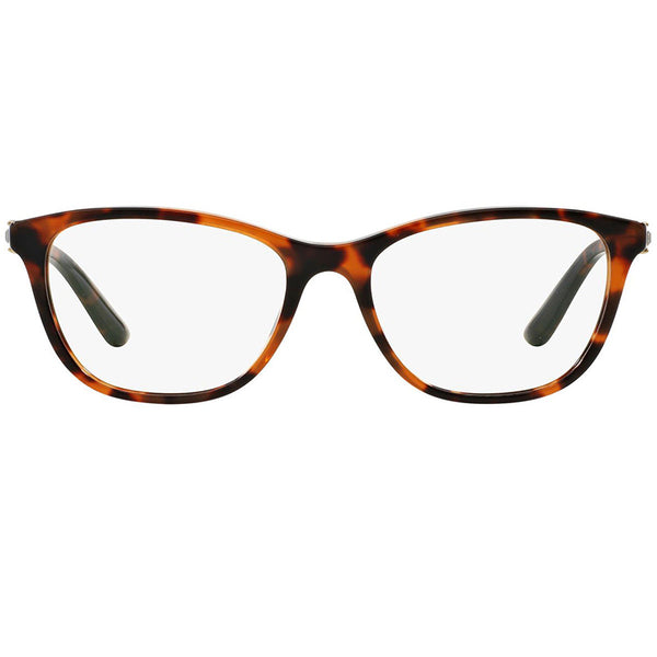 Versace Womens Square Eyeglasses Demo Lens - Front Side