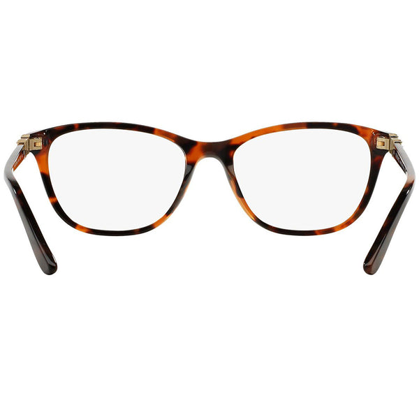 Versace Womens Square Eyeglasses Demo Lens - Back Side View