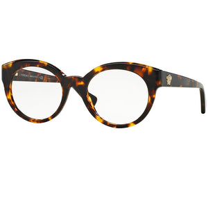 Versace Women's Round Eyeglasses Demo Lens VE3217 5148