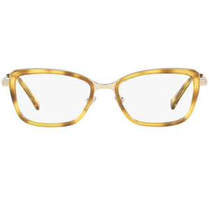 Versace Women's Square Eyeglasses Demo Lens | Front View
