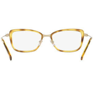 Versace Women's Square Eyeglasses Demo Lens | Back Side View