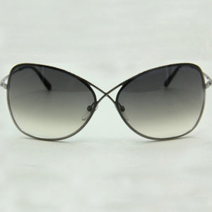 Tom Ford Women's Butterfly Sunglasses Grey Lens TF0250/S 08C